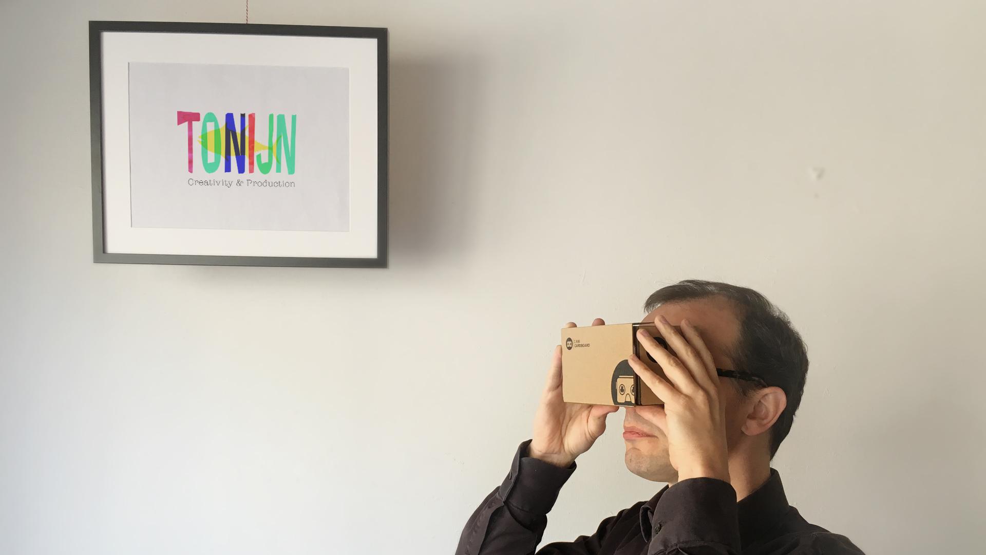Cardboard example